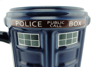 Tazón Doctor Who: Tardis en internet