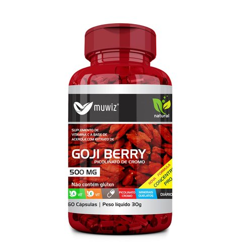 GOJI BERRY 500MG 60 CÁPSULAS
