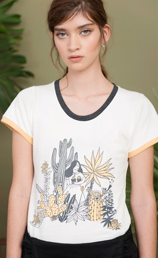 Remera Agave Acero