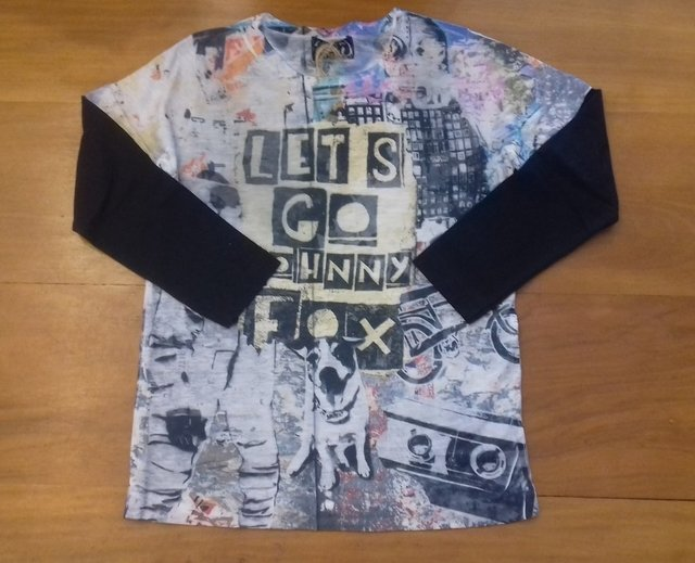 CAMISETA MANGA LONGA JOHNNY FOX J30908