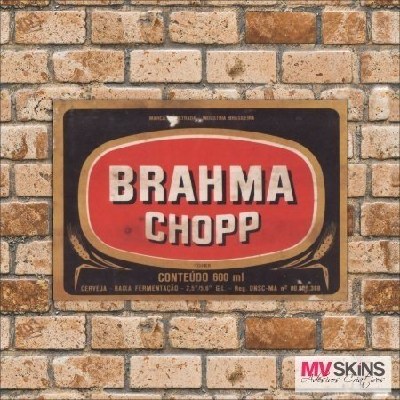 Placa Decorativa Brahma Chopp  na internet