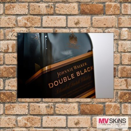Placa Decorativa Johnnie Walker Double Black na internet