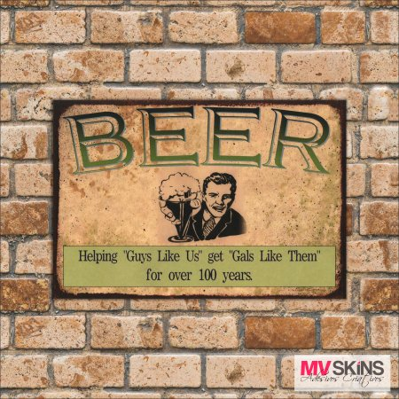Placa Decorativa Beer 01 - comprar online