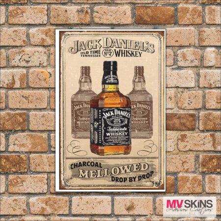 Placa Decorativa Jack Daniel's Whiskey 01 na internet