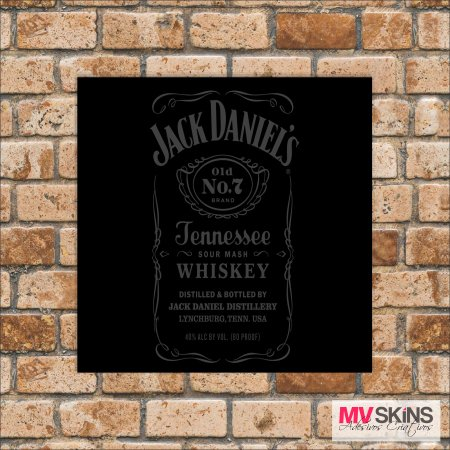 Placa Decorativa Jack Daniel's Tennessee Whiskey 01 na internet