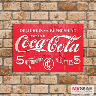 Placa Decorativa Coca-Cola Drink 02