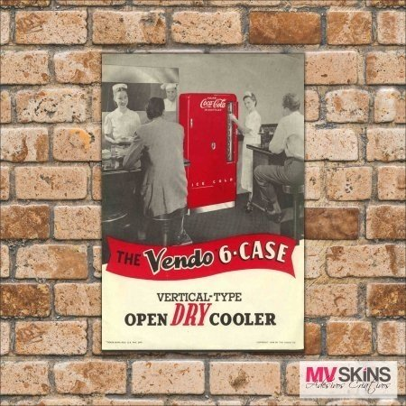 Placa Decorativa Open Dry Cooler na internet