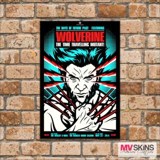 Placa Decorativa Wolverine na internet