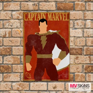 Placa Decorativa Captain Marvel na internet