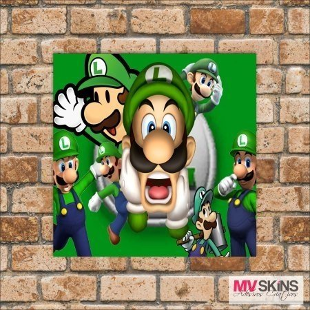 Placa Decorativa Games Luigi 01 na internet