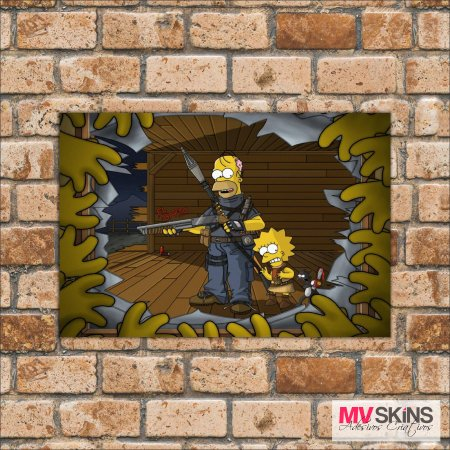 Placa Decorativa Os Simpsons 15