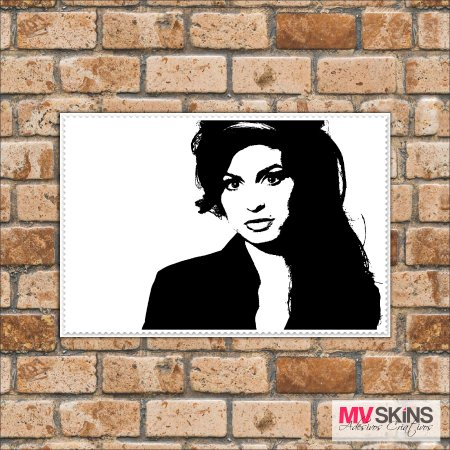 Placa Decorativa Amy Winehouse na internet