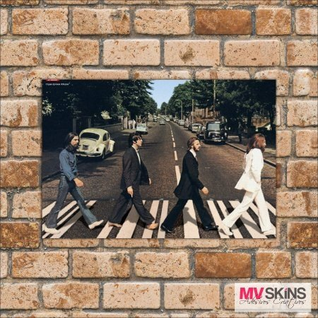 Placa Decorativa The Beatles 01 na internet