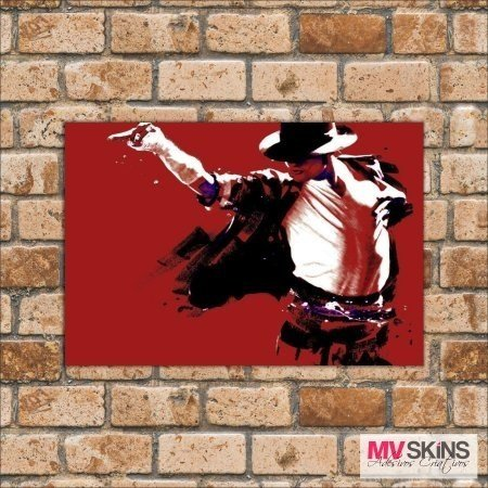 Placa Decorativa Michael Jackson na internet