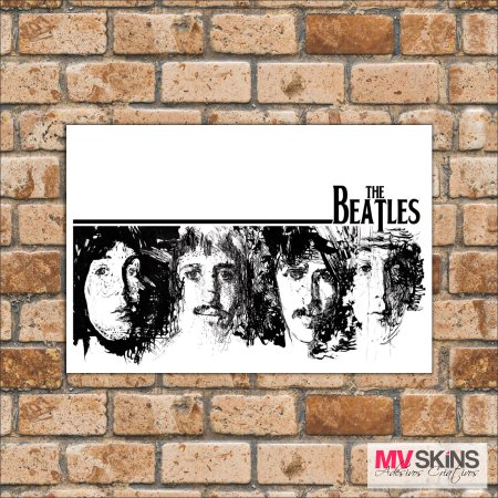 Placa Decorativa The Beatles 02 - comprar online