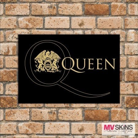 Placa Decorativa Queen na internet