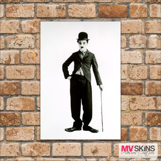 Placa Decorativa Charlie Chaplin 03 na internet