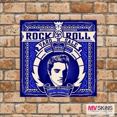 Placa Decorativa Rock Roll na internet
