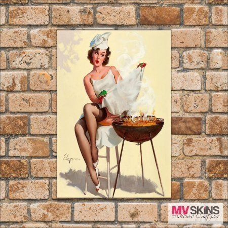 Placa Decorativa Pin-Up 02 na internet