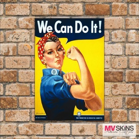 Placa Decorativa We Can Do It ! na internet