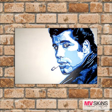 Placa Decorativa John Travolta Pop-Art