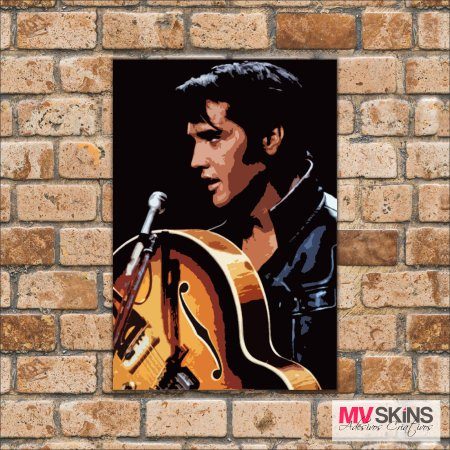 Placa Decorativa Elvis Presley Pop-Art - comprar online