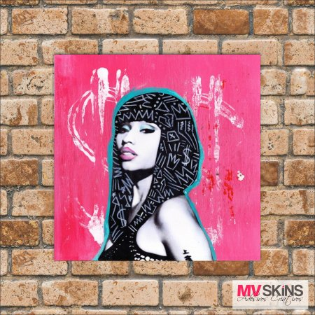 Placa Decorativa Nicki Minaj Pop-Art na internet