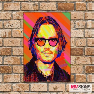 Placa Decorativa Johny Depp Pop-Art na internet