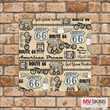 Placa Decorativa Route 66 01 na internet