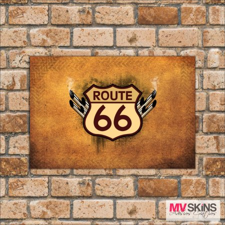 Placa Decorativa Route 66 02 na internet