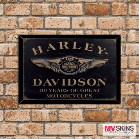 Placa Decorativa Harley Davidson na internet