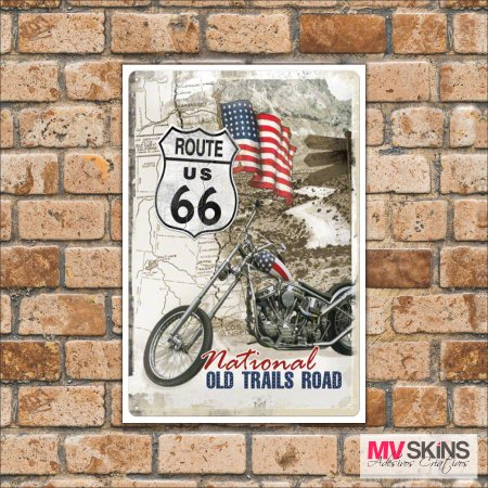 Placa Decorativa National Old Trails Road na internet