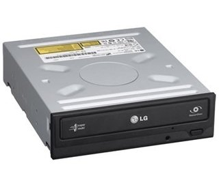 Lector Grabadora CD DVD  LG  Black