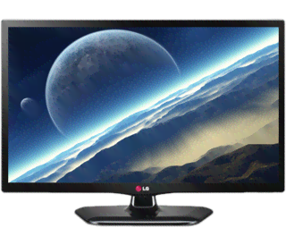 Monitor LED TV  LG  24