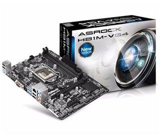 Mother Intel 1150 Asrock H81M-VG4 R2.0
