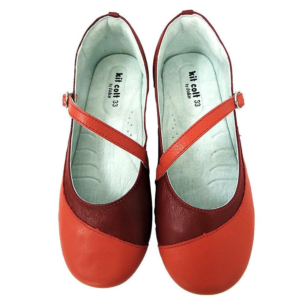 040e8e62f0 10344 - Infantil Menina Jovem Sapatilha Boneca vermelha e coral Toke. »