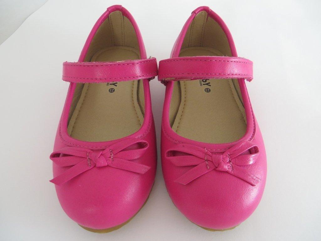 46470716f1 11817 - Infantil Feminino Boneca em couro pink laço fino Hobby. »