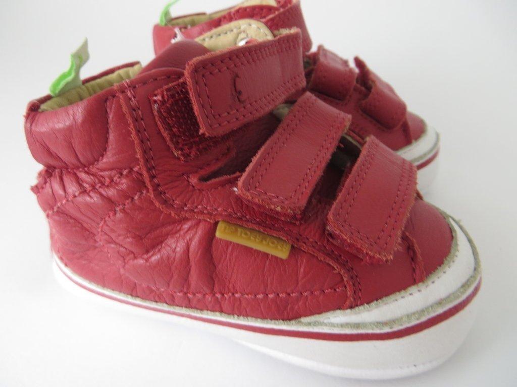 cc3b6d4109 ... 11034 - Infantil Masculino Tênis bebê em couro vermelho Tip Toey Joey - comprar  online ...