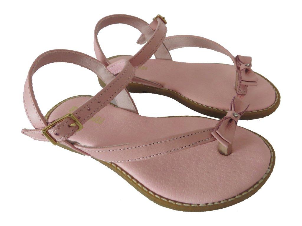 9cb572fe2 ... 10707 - Infantil Menina Sandália rosa de dedo com mini laço Pampili - comprar  online ...