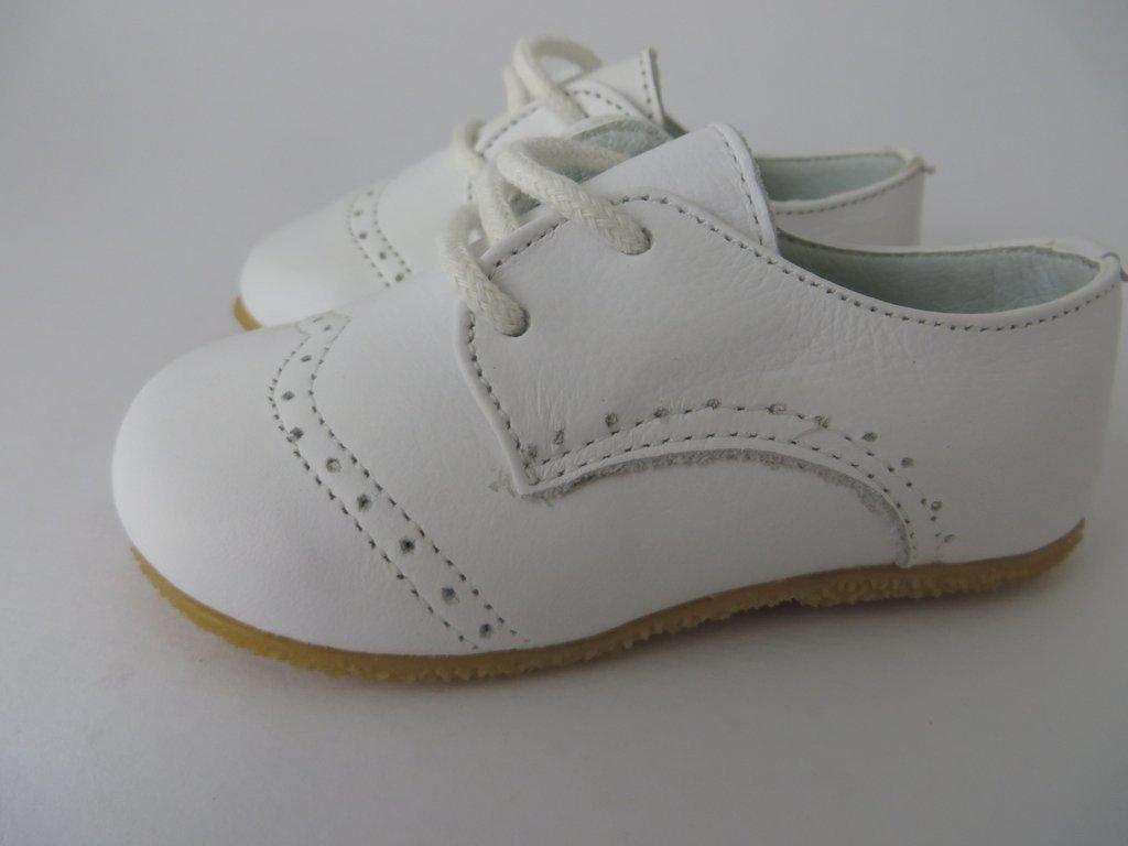 51e4b8938c5 ... 10408 - Infantil Masculino Sapato social branco de cadarço TOKE em  couro - comprar online ...
