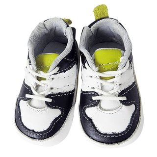 98bfb6a08 11215 - Infantil MasculinoTênis nenêm confort preto/branco/amarelo KEA em  couro