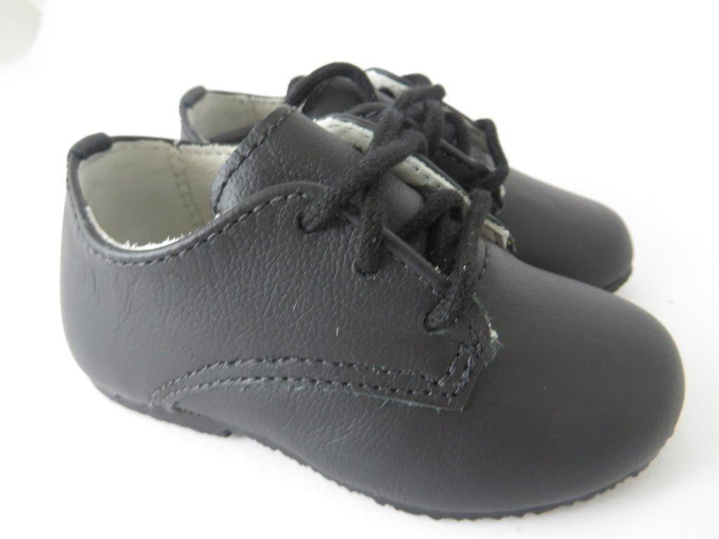 1bf753adf ... 11334 - Infantil Menino Sapato social em couro preto cadarço Bibi -  comprar online ...