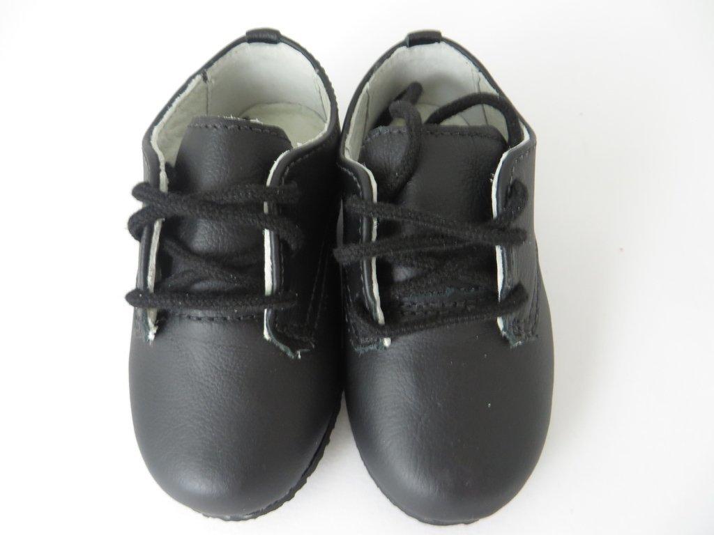 55260b185 11334 - Infantil Menino Sapato social em couro preto cadarço Bibi. »