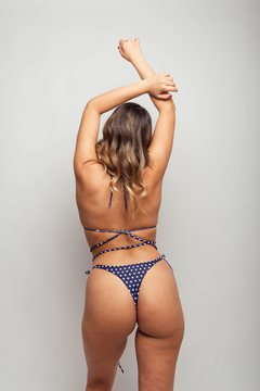 Bikini Bella Dots Azul - Calipsian