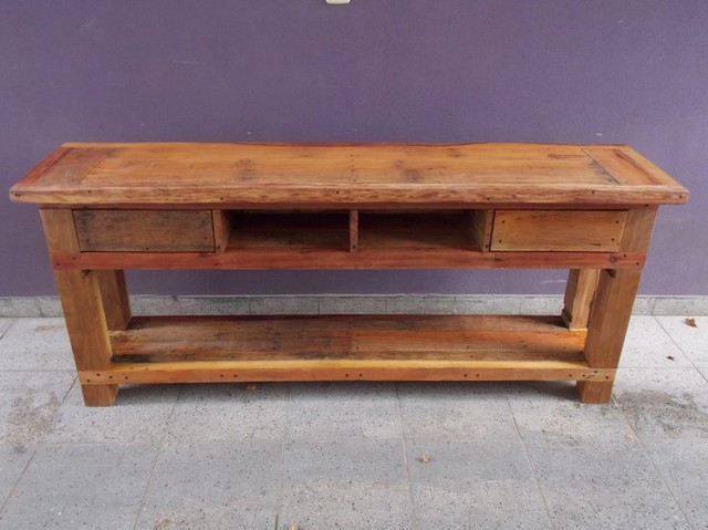 mesa para tv led con cajones huecos comprar online