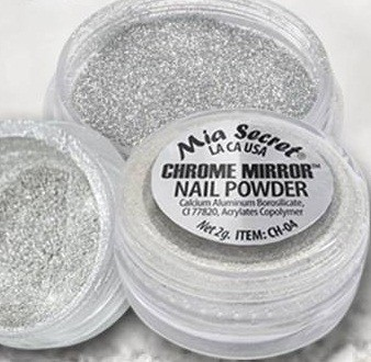 Pó Chrome Mirror | Prata | 2 GR