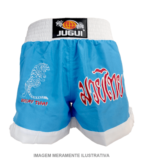 SHORTS P/ MUAY THAI TIGER na internet