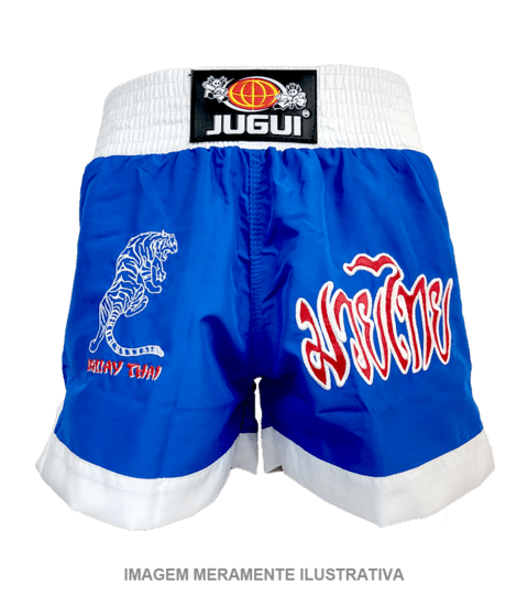 SHORTS P/ MUAY THAI TIGER - JUGUI