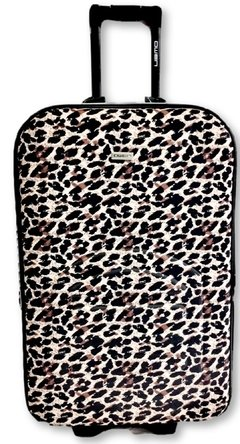 Valija Mediana Estampada Animal Print de 24