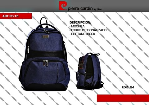 PC-15 MOCHILA / PORTANOTEBOOK